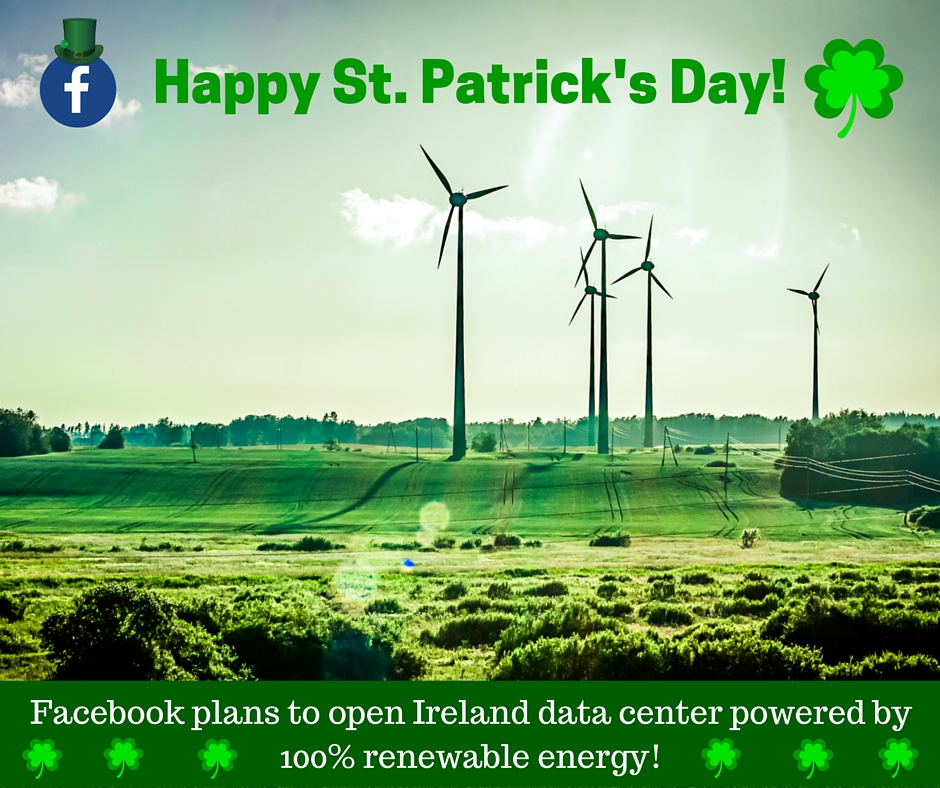 """We """"Like"""" Facebook's Irish Green Energy Plan and Thought We"""