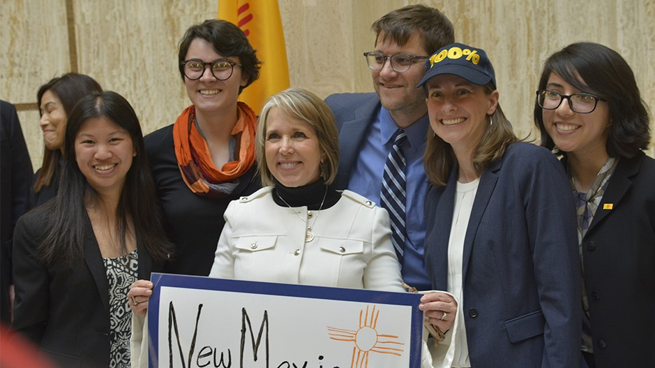 <h3>NEW MEXICO</h3><h5>After leading the effort to to pass a 100% clean energy bill in California, we won a similar bill in New Mexico. Now, we're urging the state assembly to approve it, and backing similar bills in Massachusetts, Washington, Minnesota, Pennsylvania, New Jersey and other states.</h5><em>Tom Lohr LTR Photography</em>