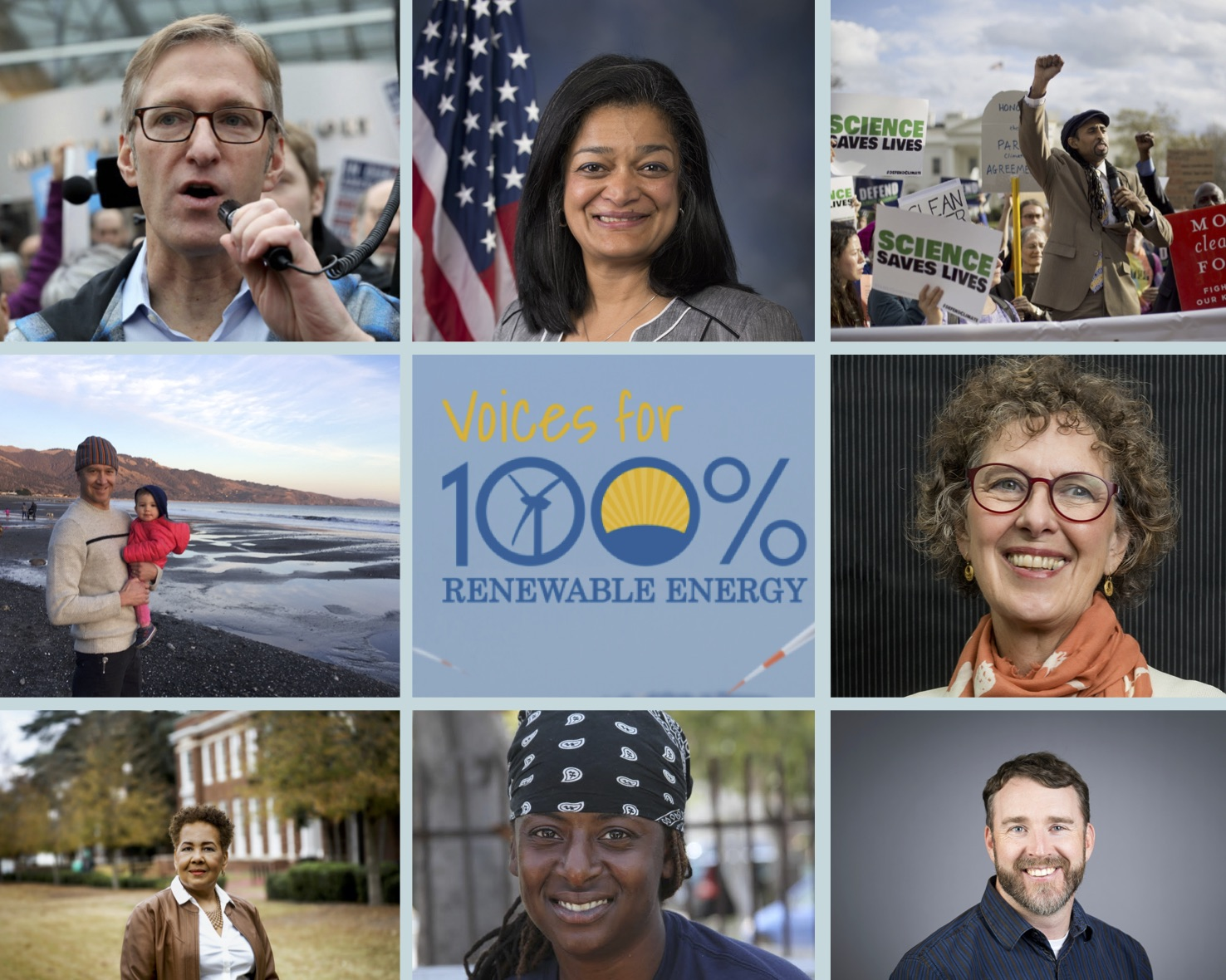 Voices for 100% Renewable Energy