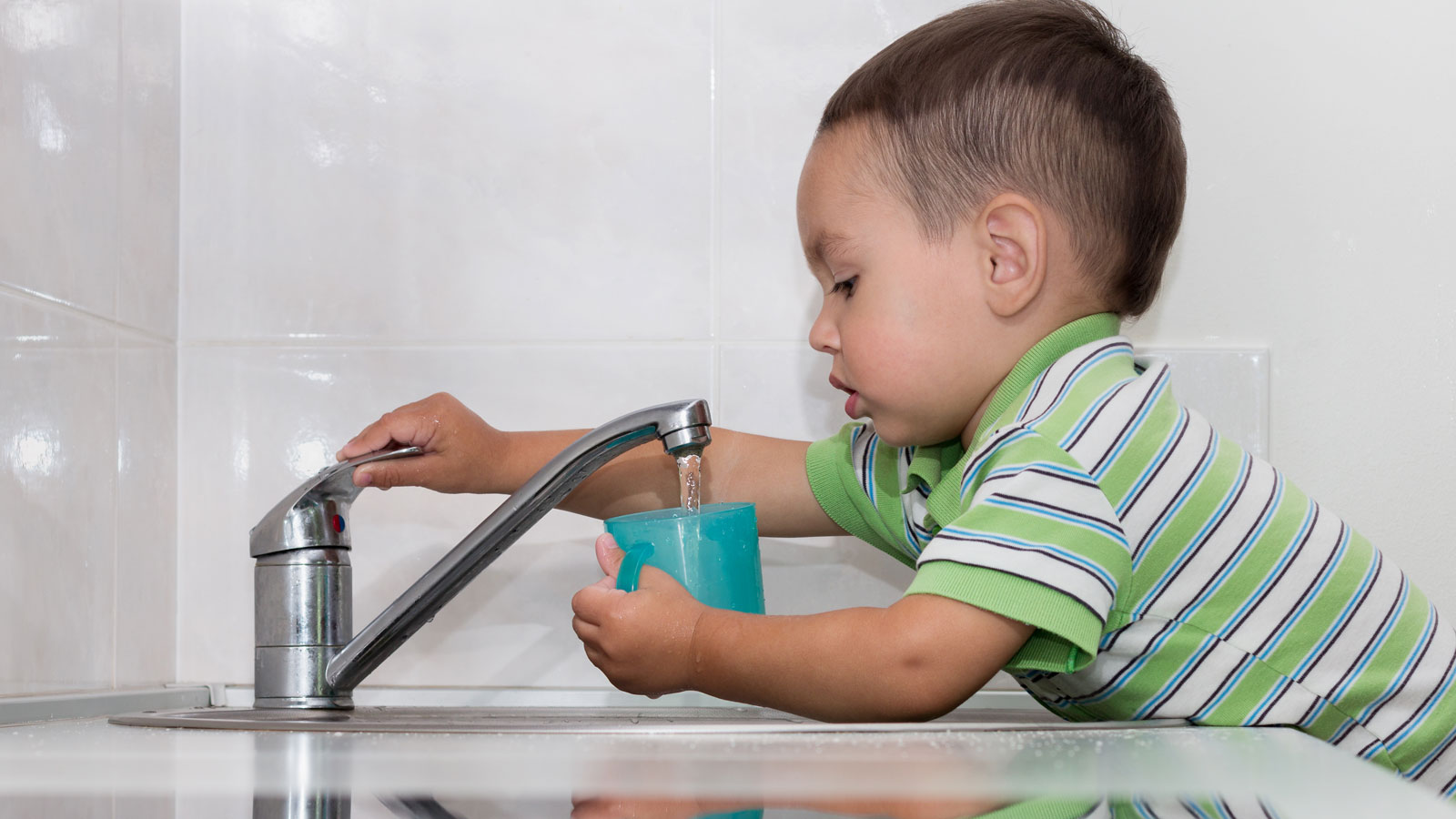 <h4>NO TOXICS ON TAP</h4><h5>Goal: Protect our drinking water from toxic PFAS contamination.</h5>