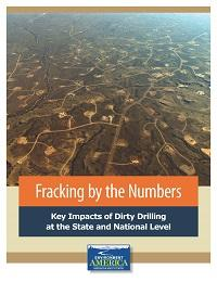 Fracking By The Numbers Environment America